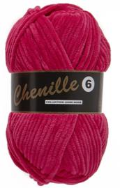 Chenille 6 -Lammy Yarns 020 Fuchsiarood