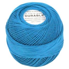 Durable borduur en haakkatoen Turquoise 1050