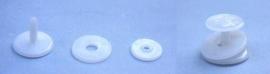 Scharnier voor draaimechanisme hoofd, benen en armen 25mm