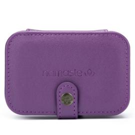 Namaste Buddy Case klein  11,7 x 7,8 x 4,6cm Paars - Purple