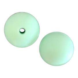 Losse siliconen kraal 12mm Mint