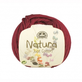 DMC Natura Just Cotton N34 Bourgogne