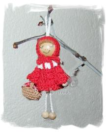 Fournituren voor Kerstengel/Roodkapje van Claire Haakmuts voor KIKA