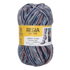 Regia 4ply design line A&C Lofoten Color 3879 Moskenes color