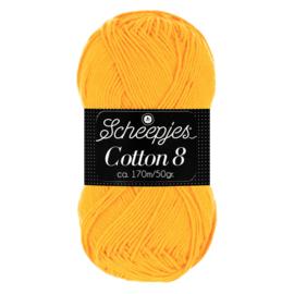 Cotton 8 Scheepjes 714 Zonnegeel