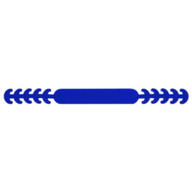 Siliconen oorbeschermers mondkapje Blauw 215