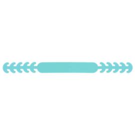 Siliconen oorbeschermers mondkapje IJsblauw 285
