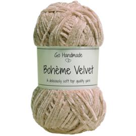 Go Handmade Bohème Velvet Fine - Nude - 17611
