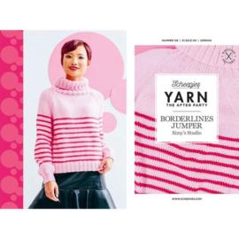 Yarn, the after party Borderlines Jumper nr 128 (kooppatroon)