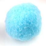 Pompom 30mm Licht blauw