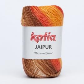 Katia Jaipur 207 Oranje-Terrabruin