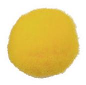 Pompom 30mm Geel