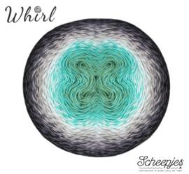 Scheepjes Whirl -  785 Minty Black Velvet Aurora