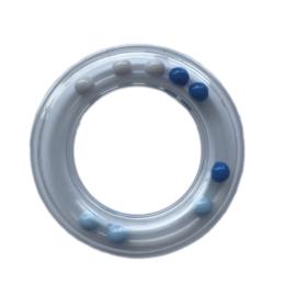 Durable Rammelring - rammelaar  80mm Blauw