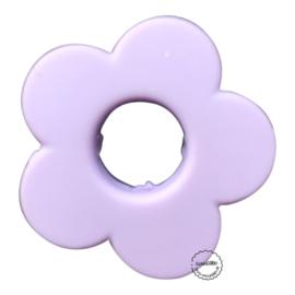 Siliconen bloem Lila  28mm