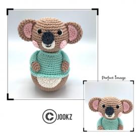 Garen en fournituren pakket MINI Tuimelaar Koala