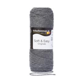 Soft & Easy SMC 00092 Mittelgrau meliert