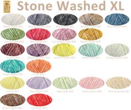 Alle 36  kleuren Stonewashed XL inclusief 13 nieuwe kleurtjes! gratis keuze boek!