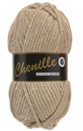 Chenille 6 -Lammy Yarns 791 Beige