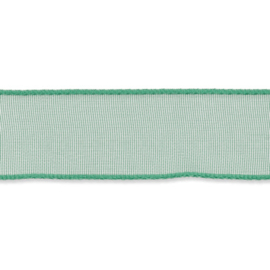 Organza lint 16mm breed Groen