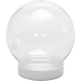 Sneeuwbollen - H: 8,5cm, D: 8cm - opening 4,7cm