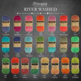 Alle 22 kleurtjes River Washed