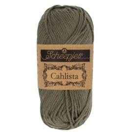 Scheepjes Cahlista387 Dark olive