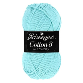 Cotton 8 Scheepjes 663 Ice Mint