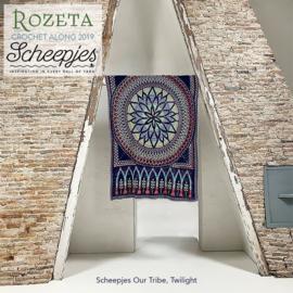 Scheepjes Rozeta CAL2019 Luxury Kit Our Tribe - Twilight pre-order