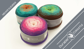 Gratis sjaalpatroon voor Durable Colourful!