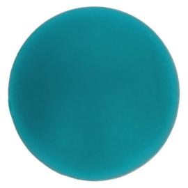 Opry Siliconen kralen 5 stuks 15mm kleur 377 Petrol