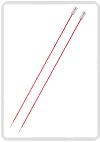 KnitPro Zing breinaald 6,50 mm met knop 40cm