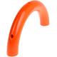 """Halve houten bijtring 100mm -Oranje - """"Babyproof"""""""