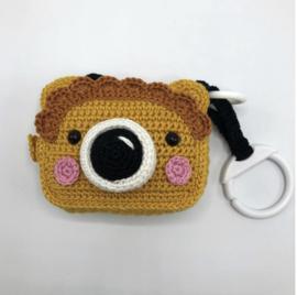 Garen en fourniturenpakket Buggyspeeltje fotocamera Leeuw
