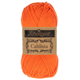 Scheepjes Cahlista 189 Royal Orange