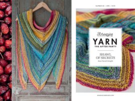 Yarn, the after party Patroon Shawl of secrets nr 6