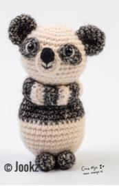 Koukleumpje mini Panda garen en fournituren pakket