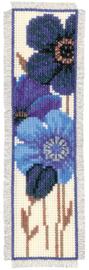 Bladwijzer kit Blauwe Anemonen (1 stuk)
