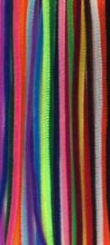 Chenilledraad 6 mm Gekleurde draad 26 stuks assortiment