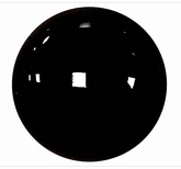Veiligheidsoogjes Zwart 6 mm
