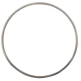 Metalen RVS ring 15,0cm doorsnee weerbestendig