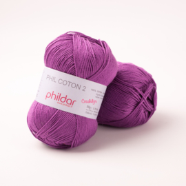 Phildar Coton 2 Clematite 0061
