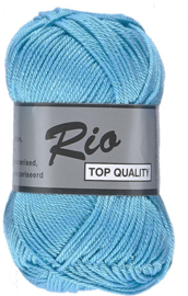 Lammy Yarns Rio katoen 838 Turquoise