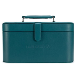 Namaste Train Case groot  30,5 x 16,5x 15,2cm  Teal