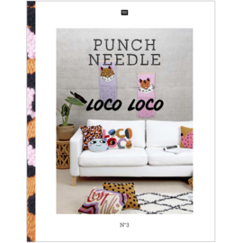 Rico Punch Needle boek Loco Loco nr.  3