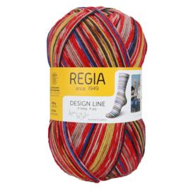 Regia 4ply design line A&C Lofoten Color 3880 Roest color