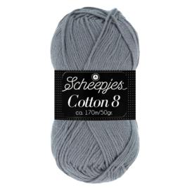 Cotton 8 Scheepjes 710 Grijs