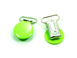 Speenclip rond Lime  20 mm