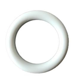 Durable Plastic Ringetje 40 mm Creme - LichtGrijsBeige - 5 stuks