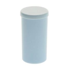 Rinkelbuisje - rammel Blauw  53x28mm